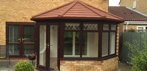 Warm tiled conservatory roof cambridgeshire