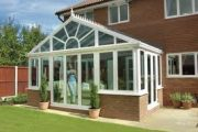 conservatory in spring